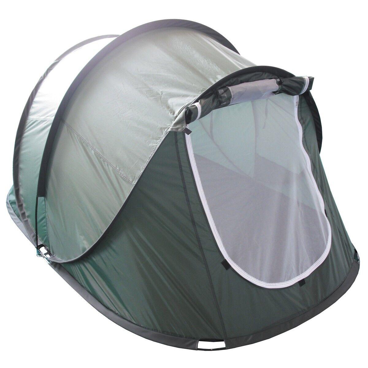 s l1600 - Mfh Tienda Militar Da Acampada Excursiones Pop-Up Tent Rachel Od Green