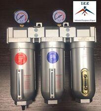 "1"" Inline Compressed Air Filter Desiccant Dryer Moisture Separator Trap Combo"