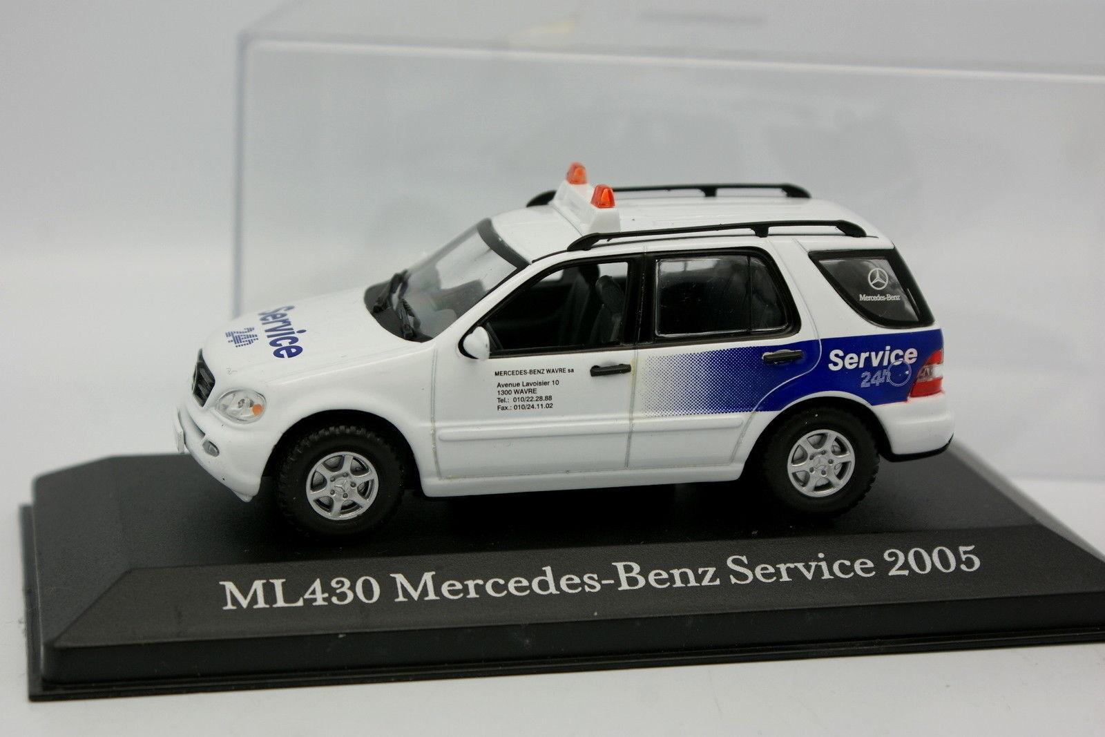 Cararama Schuco 1 43 - Mercedes ML 430 MB Service 24H 2005