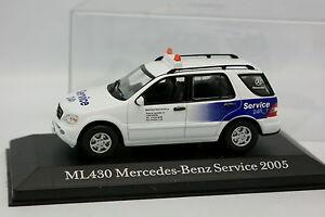 Cararama-Schuco-1-43-Mercedes-ML-430-MB-Service-24H-2005