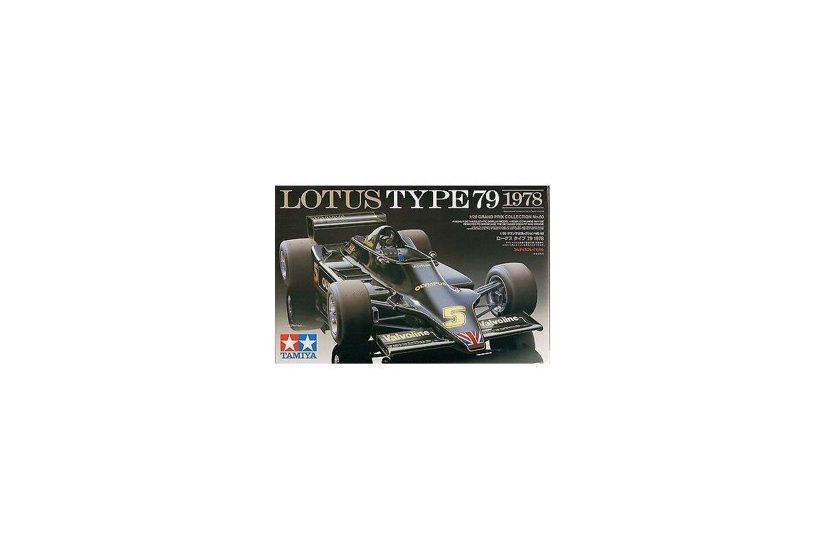 Tamiya 20060 1 20 Maquette Lotus Type 79 1978