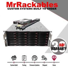Supermicro 4U 36 Bay Storage Server SAS2 FREENAS 2x Xeon E5-2660 128GB SATA-Dom