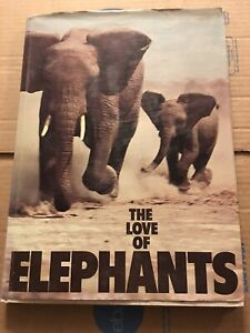 The-Love-of-Elephants-by-Neil-Murray-Nature-Reading-1976-1st-Publish-Date