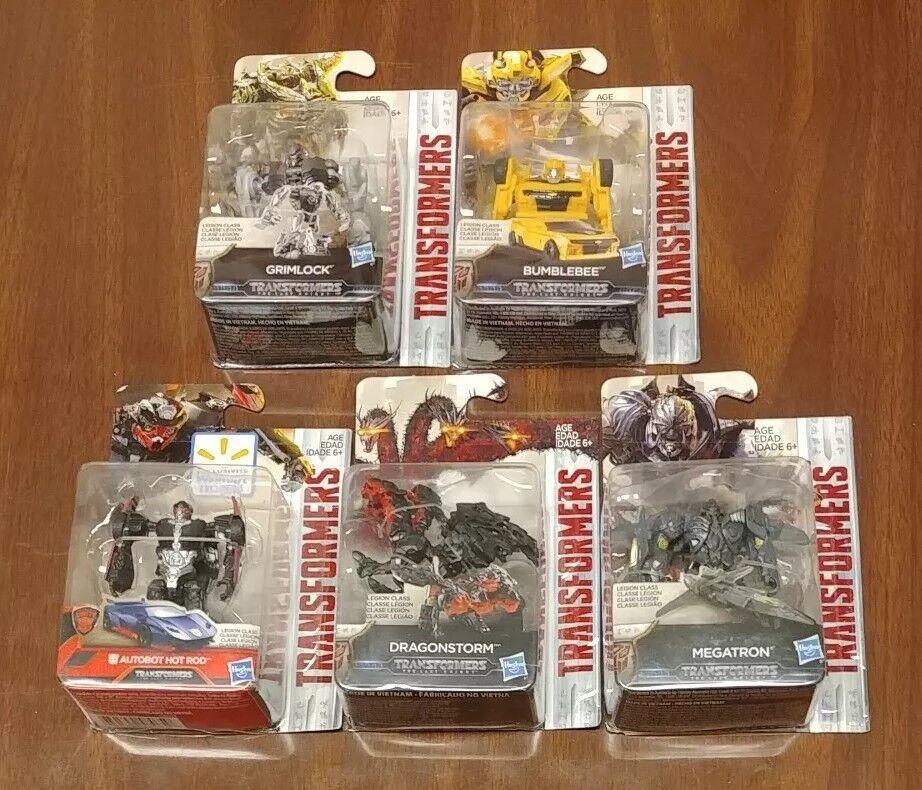 Hasbro Transformers Transformers Transformers The Last Knight Legion Class Set 5 NIP 1 Wal-Mart Exclusive a99eb9