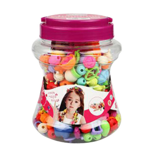 Beads Set Snap Beads for Girls Toddlers Creative DIY Jewelry Set Toys