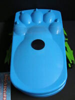 Ideal Sno-stompers Kids Bear Claw Print Snow Shoes Stompers Sand Tracks Blue