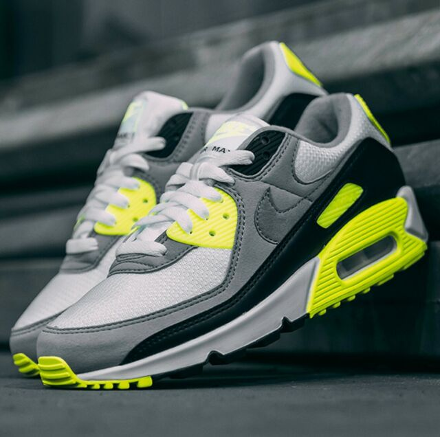 Nike Air Max 90 OG VOLT 30th Anniversary Sneaker Men's Lifestyle Comfy Shoes