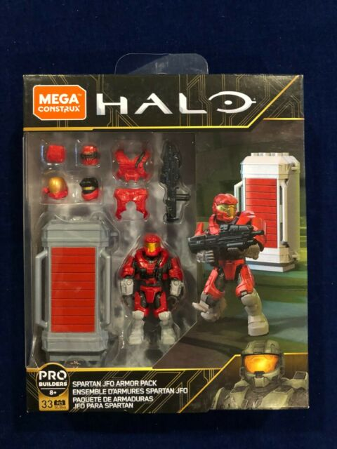 Mega Construx HALO Spartan JFO Armor Pack Building Set NEW SEALED