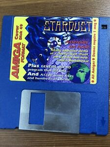 Amiga-Format-Magazine-Demo-Cover-disk-49-Stardust-amp-Genesis-TESTED-WORKING