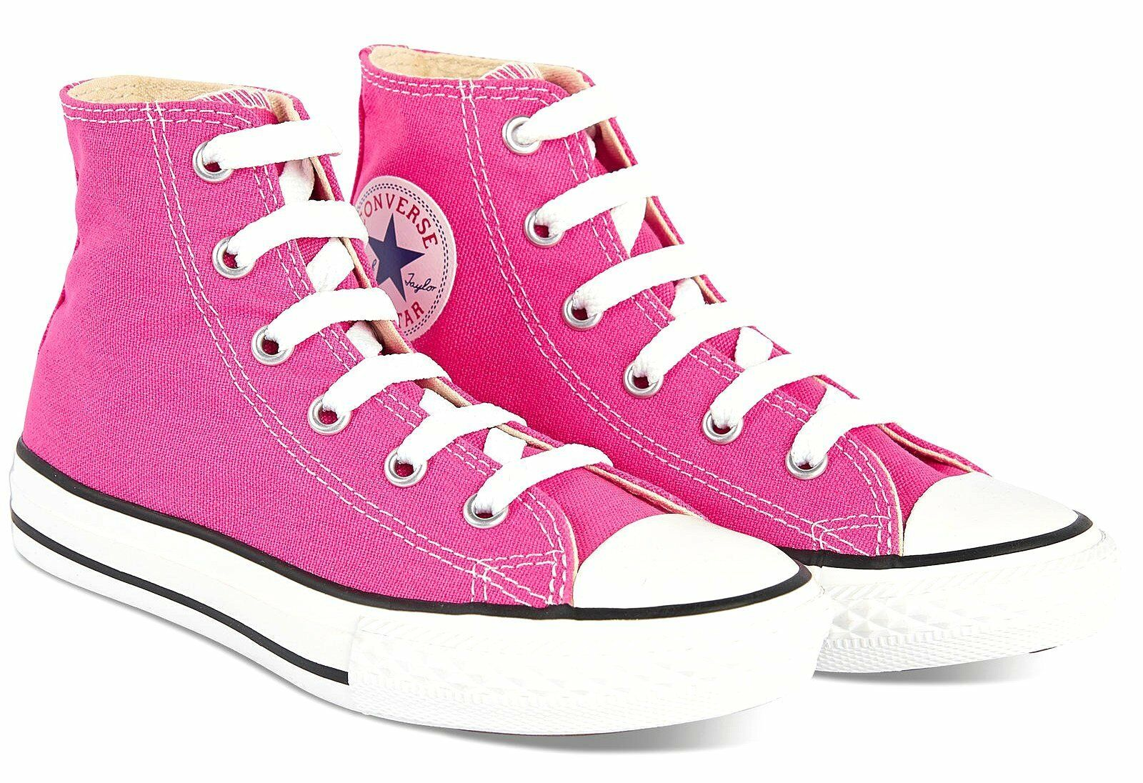 ec74332e7791 Converse Chuck Taylor All Star Hi Tops Pink All Sizes Womens ...