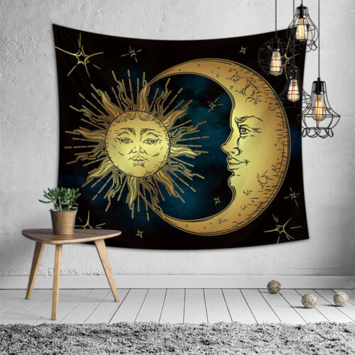 USA Hippie Queen Tapestry Mandala India Wall Hanging Blankets Throw Bedspread