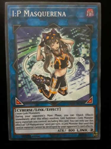 I:P Masquerena Common Yugioh Card Proxy Fake *For Fun Use Only