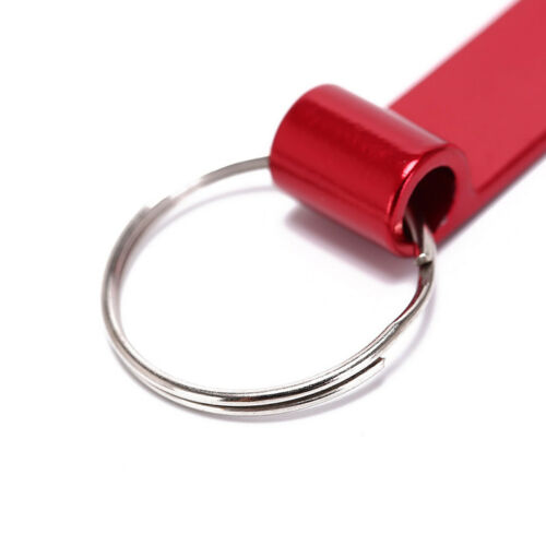 outdoor camping survival pocket tool key ring aluminum beer bottle opener  TPI