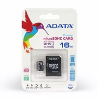 Adata 16gb Class 10 Microsd Card - Brand In Package - Android Essential