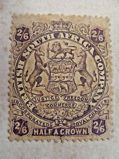 MARSHALL HOLE, BULAWAYO RHODESIA, 2/ 6 SHILLING STAMP,  CURRENCY CARD,  BOER WAR