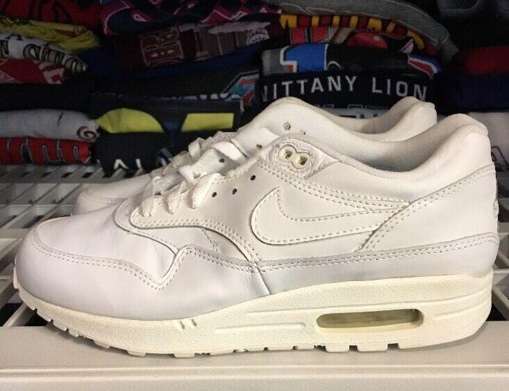 Nike air max 1 weiße weiße weiße 2004 ds 8,5 einige vergilbte cc8b22
