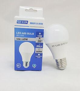 Lampe Led Ampoule E27 10w 60w 70w Led Chaud Naturel Froide Gt Lux