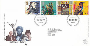 Mon ChéRi 2 Mars 1999 Patients Conte Royal Mail First Day Cover Bureau Shs-afficher Le Titre D'origine