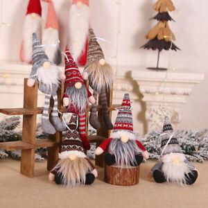 Ornement-de-noel-tricote-en-peluche-gnome-poupee-pendentif-arbre-suspendu