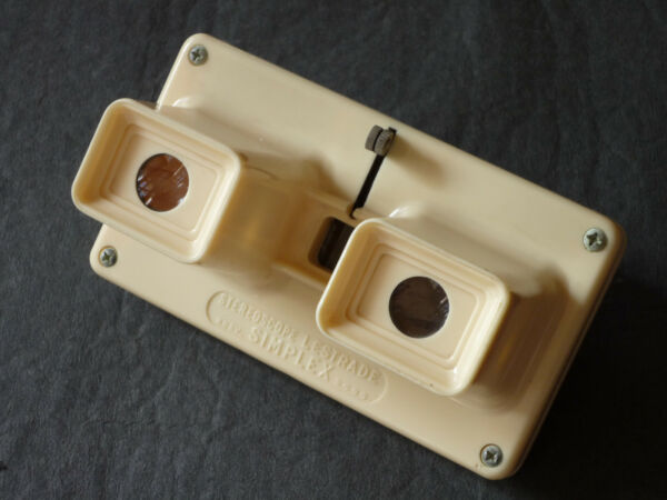Amical Stereoscope Lestrade ¤¤ Simplex ¤¤ Couleur Creme ¤¤ Annees 60 ¤¤