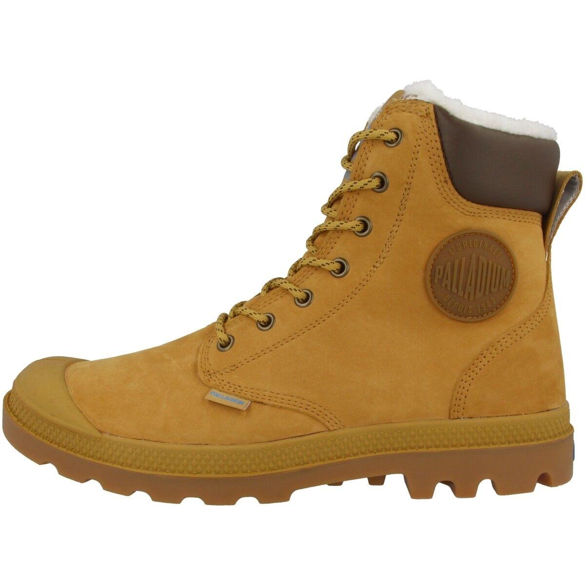 Palladium Schuhe Pampa Sport Cuff WPS Schuhe Palladium Winter Boots gefüttert amber 72992-228 a74e98
