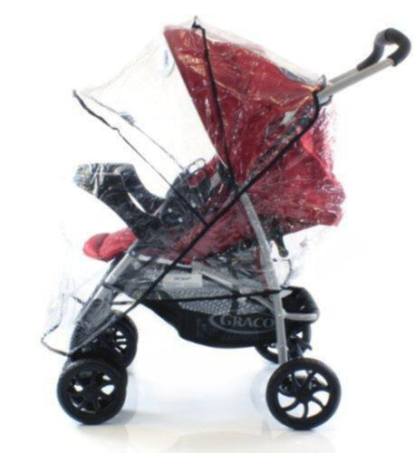 MIRAGE Raincover Compatible With Hauck Shopper 6//Sport Buggy Pushchair
