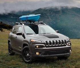 14-18 Jeep Cherokee New Hood Decal Matte Black Trailhawk Mopar Factory Oem