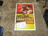 Dragstrip Girl 1957 Teen Hot Rod Bad Girl Bad Boy Juvenile Delinquent Rare &mint