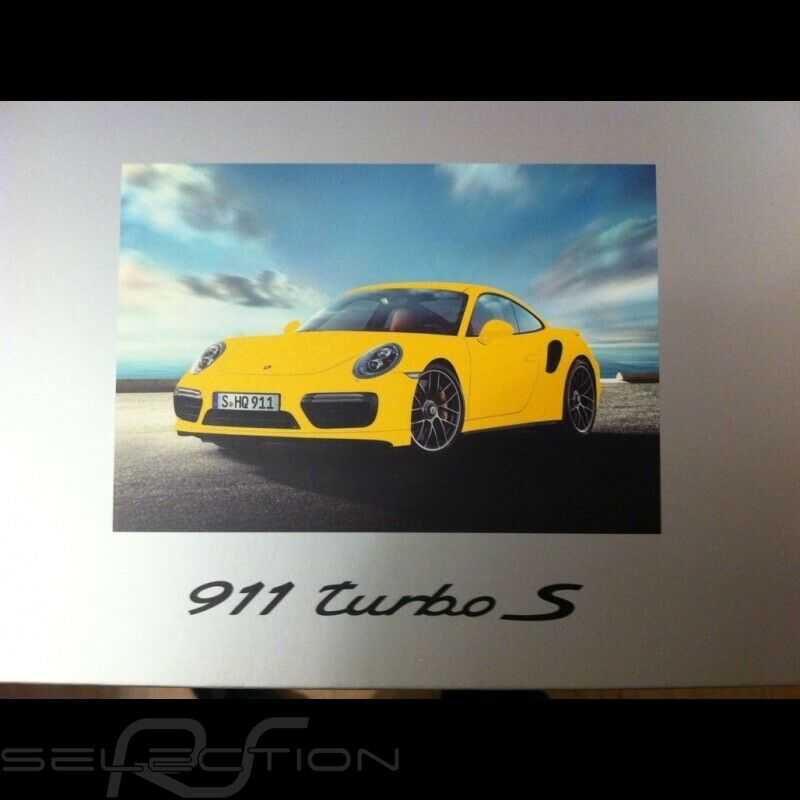 Porsche 911 type 991 Turbo S 2016 giallo racing 1 18 Spark WAP0211360G