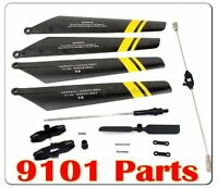 Us Double Horse 9101 Dh9101 Helicopter Spare Parts Set Main Blades Balance Bar