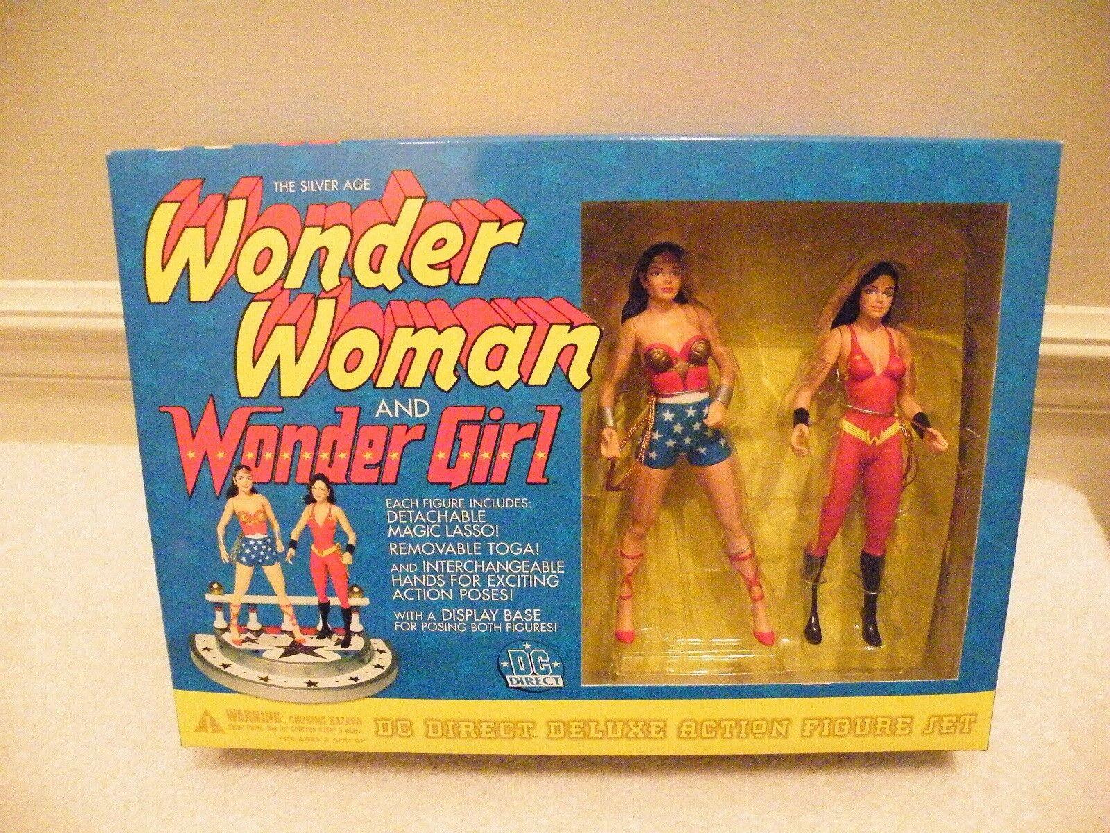 DC Direct Wonder Woman Wonder Girl figures-MIB