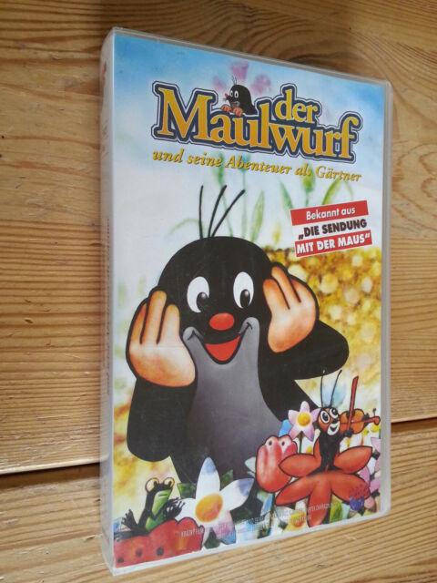 Der Maulwurf und seine Abenteuer als Gärtner, VHS Kassette, gut