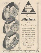 Y6530 ALPINA Uhren -  Pubblicità d'epoca - 1927 Old advertising
