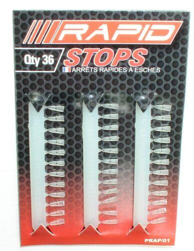 Hair-Stops Dumbell-Stopper Boilie-Stopper PRAP//01 Preston Rapid Stops