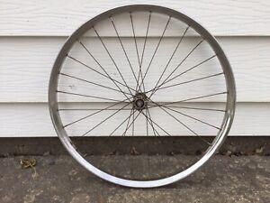 JC-Higgins-Sears-Bicycle-FRONT-TIRE-RIM-Girls-Racy-Coaster-4593-Vintage-1962