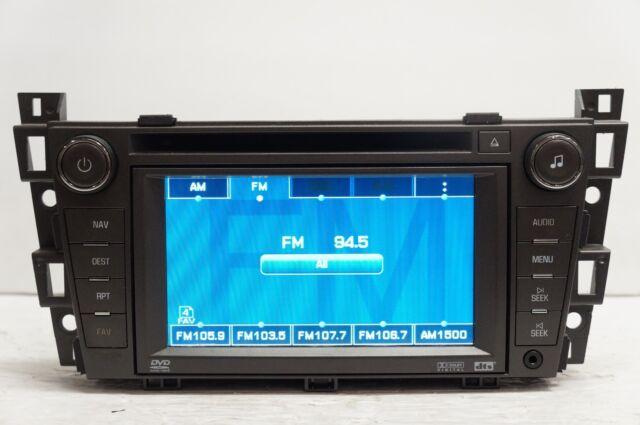 Cadillac Dts Gps Navigation Radio Stereo Screen Dvd Cd Player 09 10 Rhebay: Cadillac Dts Navigation Radio At Gmaili.net