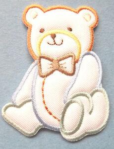 Baby Design Teddy Bear Boy Embroidered Iron On Applique