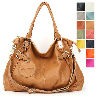 <J&S> New Womens GENUINE LEATHER purse handbag HOBO TOTES SHOULDER Bag [WB1133]