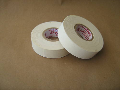 """2 Rolls of Sports Tape White Cloth Boxing Tape Pro Quality 1/"""" x 27 yd"""