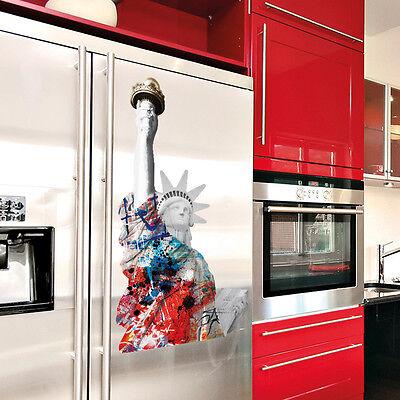 STATUA DELLA LIBERTA' - STICKERS  Adesivi Murali  Extra Large cm 50x70