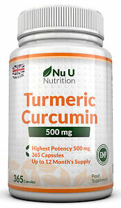 Turmeric-Curcumin-365-Capsules-High-Strength-500mg-Anti-inflammatory-Pain-Relief