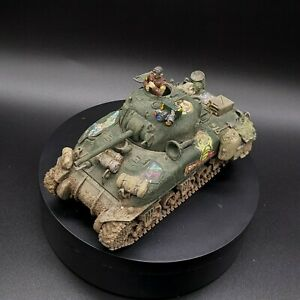 Painted-1-48th-scale-Bolt-Action-034-Kellys-Heroes-034-oddball-sherman-tank-TAMIYA