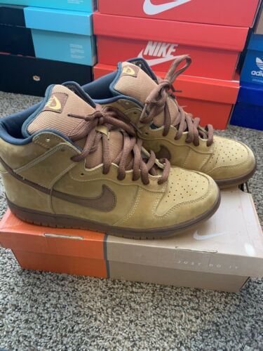 Nike Dunk Sb Brown/maple 2002