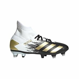 Adidas-Predator-20-3-SG-Soft-Ground-Junior-Enfants-Football-Boot-Inflight-Blanc