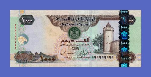 Reproductions 1000 Dirhams 2012s UNITED ARAB EMIRATES