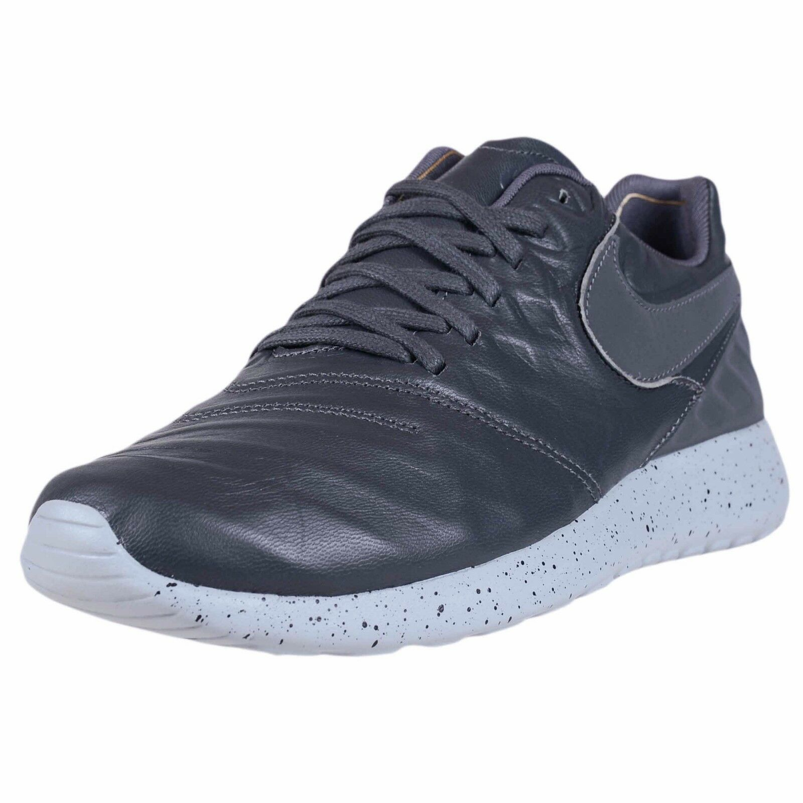 NIKE ROSHE TIEMPO VI WOLF GREY Uomo LEATHER SOCCER FASHION SHOES 852615 002