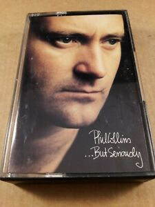 Phil-Collins-But-Seriously-Vintage-Tape-Cassette-Album-from-1989