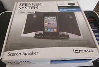 Icraig Stereo Speaker System For Ipod & Iphone (cmb3210)