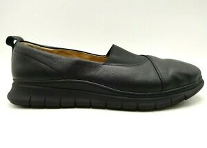 Vionic-Linden-Black-Leather-Casual-Slip-On-Comfort-Loafers-Shoes-Women-039-s-9-5-W