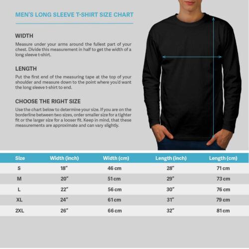 Wellcoda Night BMX Moon Fashion Mens Long Sleeve T-shirt Tunnel Graphic Design